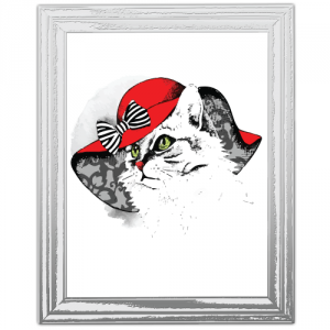 Autocolant Toaleta pisica