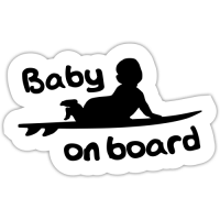 Autocolant auto Baby on board