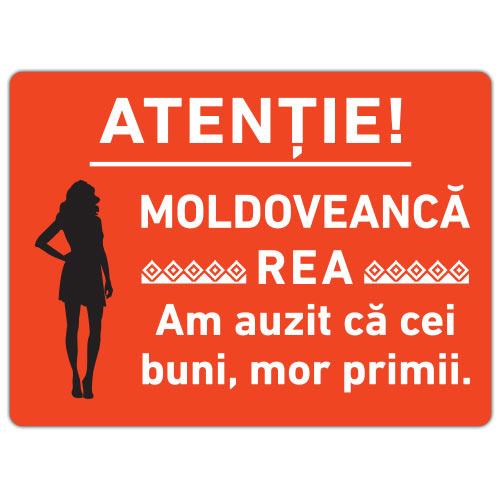 Sticker Moldoveanca rea