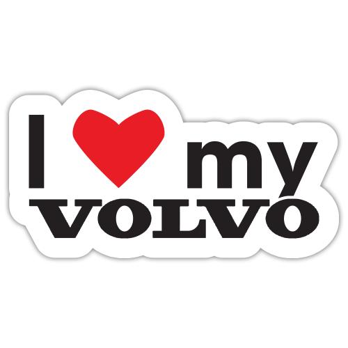 Autocolant I love my Volvo