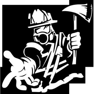 Autocolant Pompier