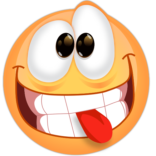 Autocolant Smiley