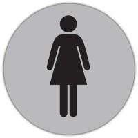 Autocolant Toaleta femei