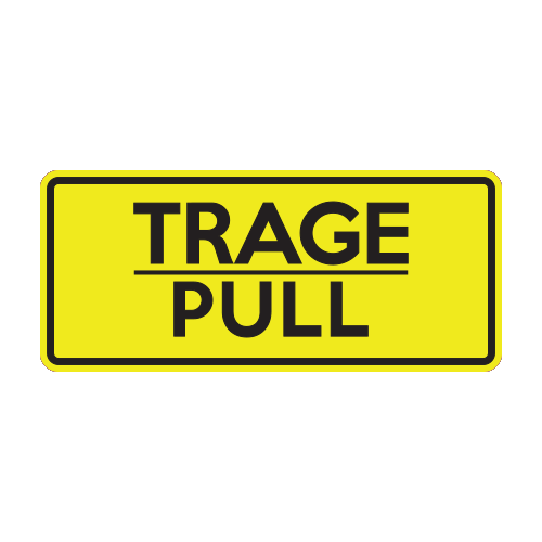 Autocolant Trage - Pull