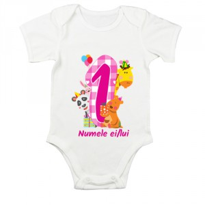 Body bebe Un anisor (cu numele ei/lui)