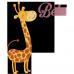 Body bebe Girafa bebe (cu prenume)