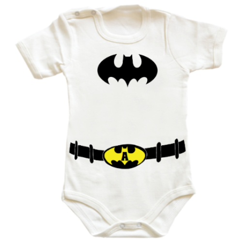 Body bebe Costum Batman