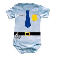 Bebe politist personalizat