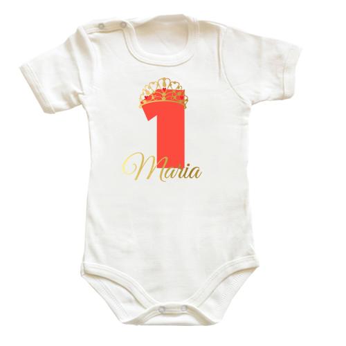 Body bebe personalizat Printesa - 1 anisor