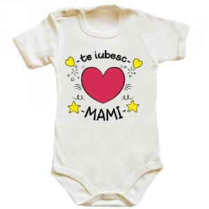 Body bebe Te iubesc mami