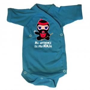 Body bebe Ma antrenez sa fiu Ninja