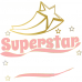Body bebe Superstar (cu numele ei/lui)