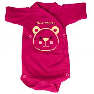 Body bebe Urs (cu numele ei/lui)