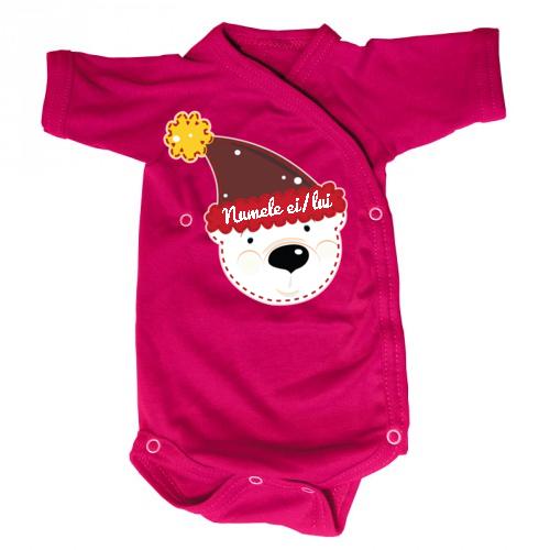Body bebe Ursulet (cu numele ei/lui)