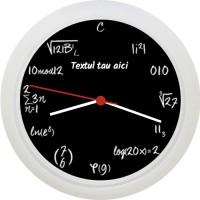 Ceas cu ecuatii matematice