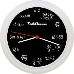 Ceas cu calcule matematice