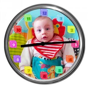 Ceas cu fotografia copilului