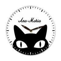 Ceas de perete Pisica neagra