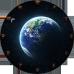 Ceas cu planeta Pamant