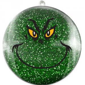 Glob Grinch cu sclipici