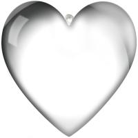 Glob in forma de inima cu fotografia dvs.