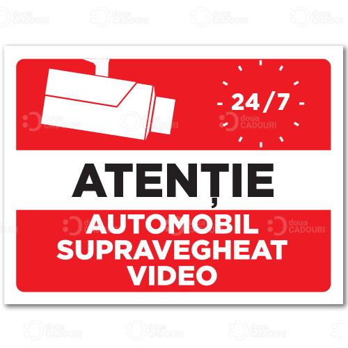 Indicator Automobil supravegheat video