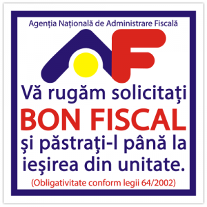 Indicator Bon fiscal