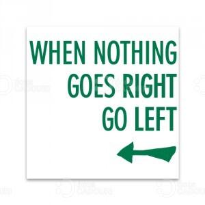 Indicator nostim Go left