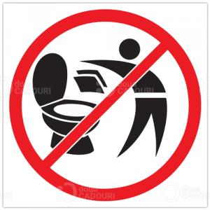 Indicator Nu aruncati hartia in toaleta