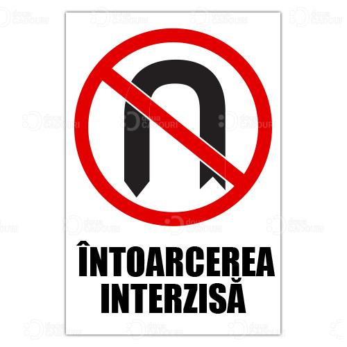 Indicator Intoarcerea interzisa