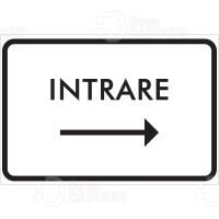 Indicator pentru Intrare catre dreapta