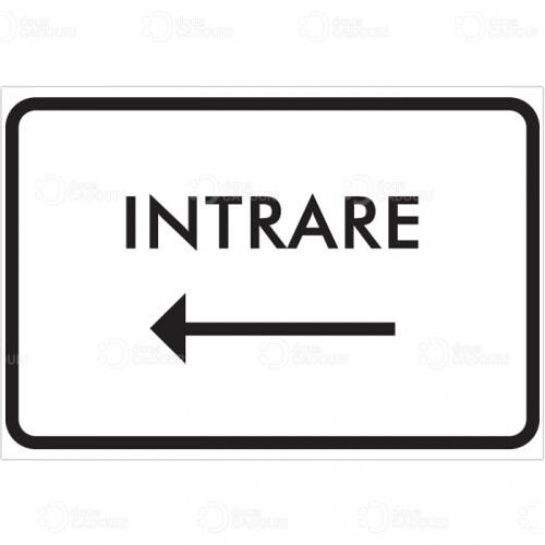 Indicator pentru Intrare catre stanga