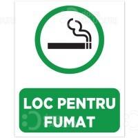 Indicator Loc pentru fumat