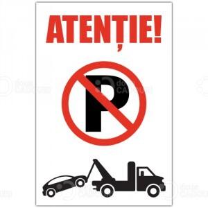 Indicator Atentie - Tractari auto