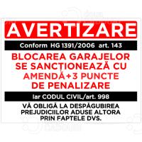 Indicator Blocarea garajelor - Codul civil