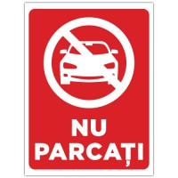 Indicator Nu parcati masina