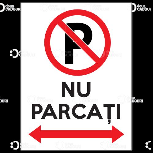 Indicator Nu parcati