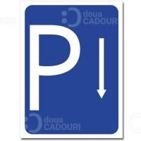 Indicator Parcare rezervata