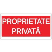 Indicator Proprietate privata