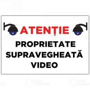 Indicator Proprietate supravegheata video