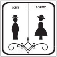 Indicator elegant pentru Toaleta