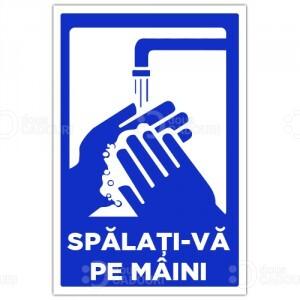 Indicator Spalati-va pe maini