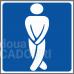 Indicator amuzant Toaleta domni