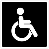 Indicator Toaleta pentru persoane cu dizabilitati