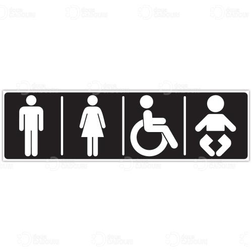 Indicator Toaleta mixt