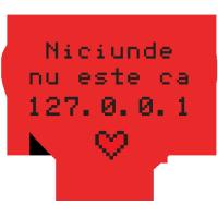 Mousepad 127.0.0.1 in forma de inima