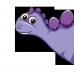 Body bebe Dinozaur