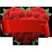Perna personalizabila Inima de trandafiri