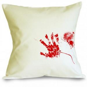 Perna amprenta de sange