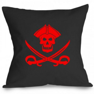 Perna steag pirat